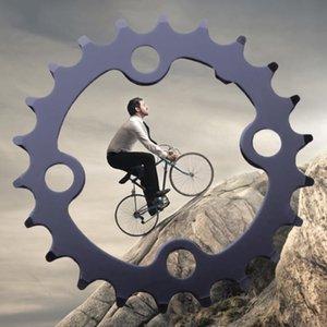 22T 7/8/9 velocidade Mountain Bikes MTB Estrada da bicicleta Crank Pedaleira Chainwheel disco da roda Cadeia dente fatia Repair Ciclismo Parts