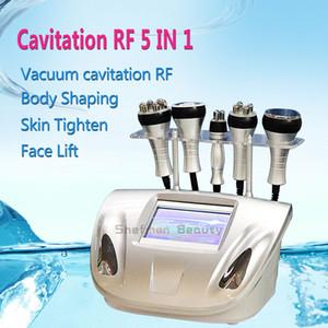 5 em 1 equipamento da beleza da radiofrequência do RF do vácuo da cavitação para a máquina da beleza do uso doméstico da clínica do salão de beleza do emagrecimento do elevador da cara do Shaper do corpo