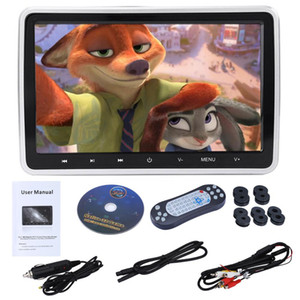 10.1in External Car Monitor DVD Player Display Color LCD Digital Screen Touch Button accesorios automovil pantalla coche New dfd