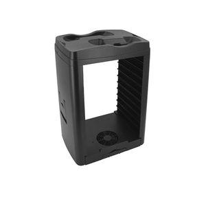 Vertical Cooling Stand Kompatibel mit Xbox ONE X S Kühler Lüfter Spiele Disc Speicher Dual-Controller-aufladendockstation