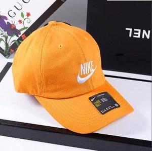 디자이너 남성 모자 캡 모자 남여 조정 편지에 대한 6 색으로면의 Campaniform 야구 모자 캐주얼 스냅 백 제작 인쇄하기