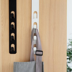 Home Storage Organization Hooks Rails Bed Body Hanger Clothes Hanging Rack Hooks for Bags منشفة yq01498