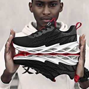 Hommes Chaussures de course Athletic Tennis Lame Mesh Sport Sneakers Cross Training Chaussures de marche Trail Runners Gym Jogging Chaussure de fitness