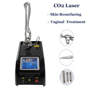 المهنية CO2 ليزر جراحي آلة بقعة النمش إزالة الجلد تجديد 40W كسور RF الآلات المعدنية أنبوب CO2 إزالة التجاعيد