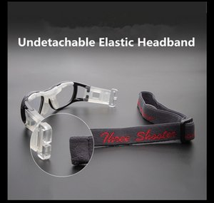 Detachable Kids Pupils Basketball football glasses LQ030 50-18-40-145 elastic adjustable Outdoor Sporty protective for Prescription lenses