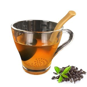 1 Pcs Pipe Silicone Tea Maker Infuser Filter Diffuser Tea Leaf Strainer Pipe for for Drinking Tea Accessories New Design