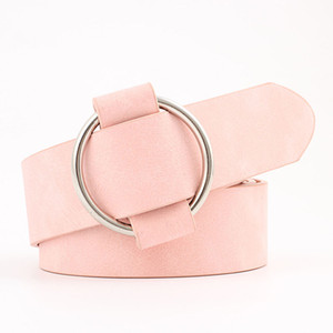 New Womens belt Fashion designer Round casual ladies belts for jeans