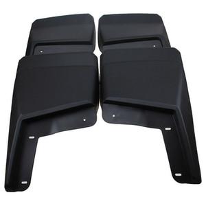 4 pcs ABS Plásticos Mud Flaps Respingo Fender Guarda Lama Fit Para Hummer H3 2007-2019