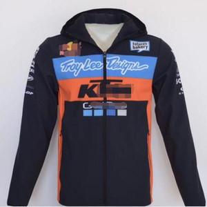 KTM motocicleta montaña off-road racing a prueba de viento y anti-caída suéter motocicleta brigada locomotora deportes polar sección delgada traje de montar