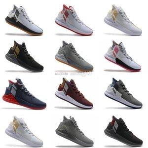 BoxD Rose 9 ile Basketbol Ayakkabıları Erkek Adam Kahverengi Derrick Rose 9 s Tasarımcı Koşucular 2019 Lüks Classis Spor Çizmeler Eğitim Sneaker Ayakkabı Satış