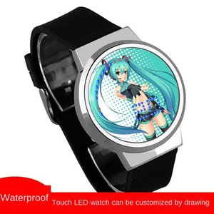 Chuyin future surrounding Hatsune Miku Shiniang Miku snow future Sakura Chuyin waterproof touch LED Watch Watch