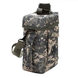 2L Canteen Camping PVC escursionismo termica Durable Water Bottle bollitore portatile di sport esterno resistente all'usura
