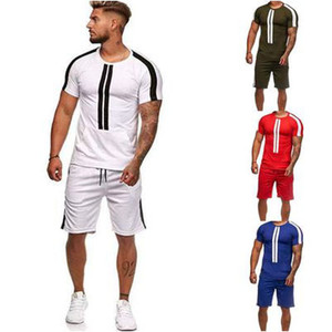 Mens Designer Sportswear Summer New Fashion Trendy College Style Short Sleeve Suit Baseball Football Jersey Fashion Sportsuits