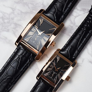 2021 New Fashion Mens Watches High Quality Genuine Leather Womens Watches Quartz Casual Lovers Man Lady Watch Gift Reloj Montres De Luxe