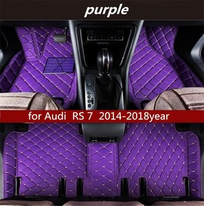 for Audi RS 7 2014-2018year Non-slip non-toxic floor mat car floor mat