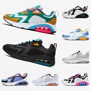 Mystic Green 200 Bordeaux Men Running Shoes White Hyper Pink Black Metallic Silver Royal Pulse Designer Trainers Womens Sneakers