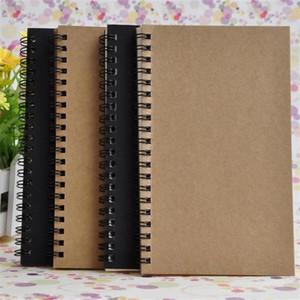 2020 Notebooks Skizzenbuch Tagebuch Zeichnung Malerei Graffiti Kleine weiche Kraft Abdeckung Blank Paper Notizblöcke für Schule Bürobedarf Schreiben