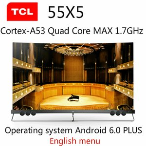 TCL 55X5 pollici quantum dot superficie dello schermo TV completa di Android 6.0 PLUS MS838A 2G 32GB 1.7GHz HDR intelligente HD Ultra 4K trasporto libero!