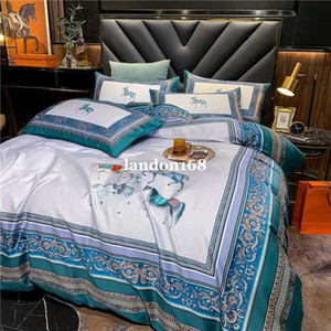 Luxurious Bedding sets European style palace style high-end 60 long-staple cotton bed linen four-piece set