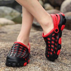 Yeni stil Stok X-Men Kadınlar Tasarımcı Terlik Sahil Casual Delik Ayakkabı Sandalet Terlik Yaz Ayaklı erkekler Ayakkabı Açık Işık Slaytlar Flops Ayakkabı