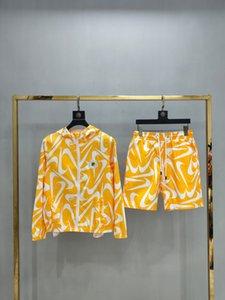 New Luxury Designer Letter Printing Running 2020 Suit Sportswear Suit Men's Brand Jacket Casual Medusa Sweatshirt -667