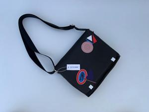 2020 classico della moda borse di cuoio del messaggero degli uomini borsa a tracolla bookbag scuola sacco per cadaveri trasversale valigetta 28CM borsa tablet