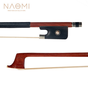 NAOMI Cello Bow Bow Brazilwood Per 4/4 violoncello W / Ebano rana Parigi Occhi Bene Balance Cello Parts Accessori Nuovo