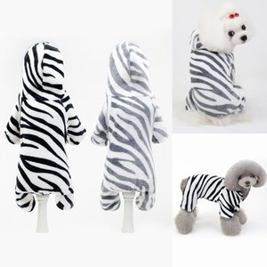 الخريف والشتاء الحيوانات الأليفة الكلب معاطف هوديس رشاقته مخطط القط outerwears الأزياء كلب الملابس زائد الحجم 9 9cl e1