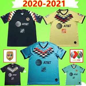 2020 2021 MX Club Mexico America Soccer Jersey O.Peralta B.Valdez A.ibarra Liga Football Shirt House Away Home Home Home