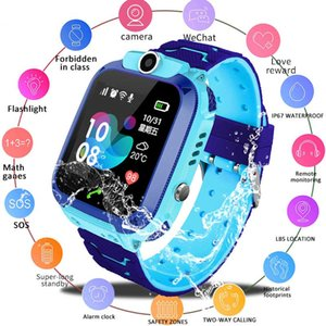Q12 Kids Smart Watch IP67 Waterproof Sports Bracelet LBS Positioning Remote Monitoring Camera Call Free Shipping