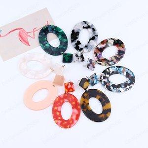 Bohemian Round Statement Earrings for Women Stud Earring Female Party Woman Jewelry Earings Ladies Bijoux Femme Jewels