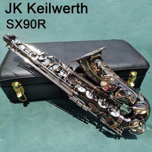 95% копия Германия JK SX90R Keilwerth саксофон альт Никелирование альт-саксофоне латуни музыкальный инструмент Case рупором бесплатной доставкой