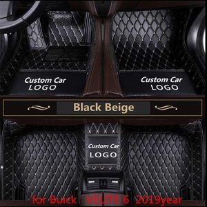 pour Buick Velite 6 2019 années anti-dérapant pied non toxique coussinet plantaire de la voiture
