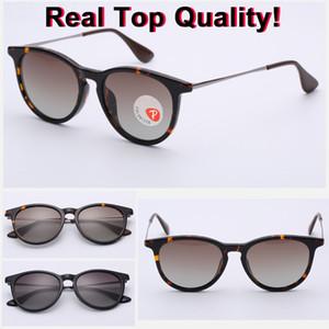 2019 neueste Art und Weise Unisex-Platz-Weinlese polarisierte Sonnenbrille Mens Polaroid Frauen Nieten Metal Design Retro Sun gafas oculos Brille 4171