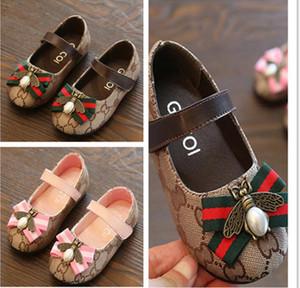 Neue Mädchen einzelne Schuhe Prinzessin Schuhe im Frühjahr 2020 modische und vielseitige koreanische Version kleine Lederschuhe Baby Kinder Kinder'