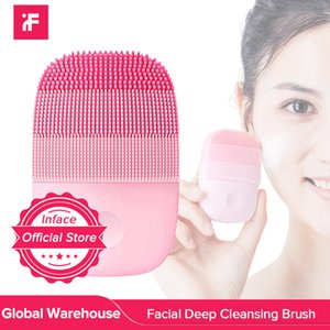 heap Powered Facial Cleansing Devices InFace Official Clean Brush Electric Motor Ultrasonic Cleaning Intelligent Facial Cleansing Massage...