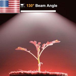 Full Spectrum Led Grow Lights USA Entrepôt Livraison gratuite à bas prix LED Grow Light 60CM Tube lumière grandir givré Full Spectrum 2 Dans Packs