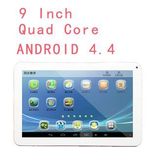 1 Adet 9 inç 800 * 480 Allwinner A33 Dört Çekirdek F900 Tablet PC Android 4.4 512 RAM 8G ROM çift kamera 0.3M Bluetooth USB OTG