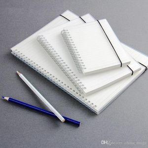 A6 Spiral Notebook bobin Bloknotlar Çizgili DOT Blank Izgara Kağıt Dergisi Günlüğü Sketchbook İçin Okul Kırtasiye Mağaza 150 * 114mm Malzemeleri