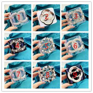 Luxusarmbandfrauen-Armbandart und weise transparentes Armbandacrylarmbanddame großes Perlendiamantarmband Multi-Art Vorwähler
