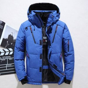 Winter Mens Designer Parkas Winter Brand Down Jacket For Mens Sport Coats Thickening Casual Clothing College Points Size M-4XL Wholesale