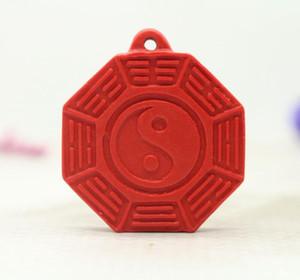 Taiwan original mine red cinnabar Double-sided gossip figure pendant This year's life transfer pendant Taobao hot sale