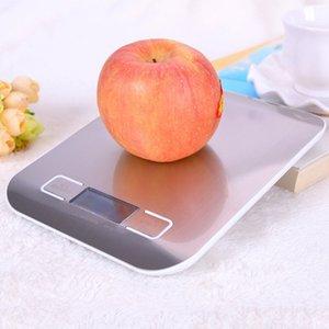Paslanmaz Çelik Dijital USB Mutfak Ölçeği 10Kg / Elektronik Hassas Mesaj Gıda Ölçek Pişirme Ölçüm Araçlarını Pişirme için