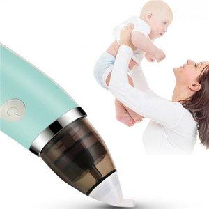 Nuevo aspirador Nasal de bebé limpiador de nariz higiénico seguro eléctrico para el cuidado del bebé punta de la nariz Oral Snot Sucker para aspirador infantil recién nacido