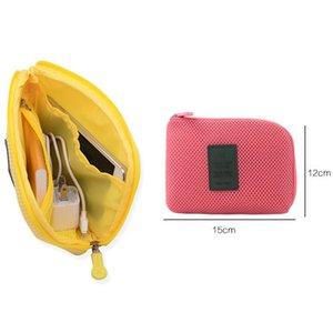 Outdoor viagem à prova de choque Digital Storage Bag 12.5 * 15 * 3 centímetros leves tarifação portátil de armazenamento Cabo Bolsas fone Organizador DH01015 T03