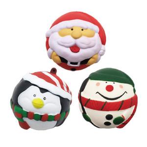 Nouveau Santa bonhomme de neige pingouin Squishies lent Rising Toys Kid Jumbo animaux Squishy lente surélévation Téléphone Straps douce parfumée Jouet