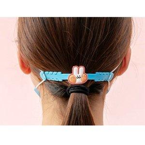2020 Adjustable Anti Slip Mask Ear Grips Extension Hook Face Masks Buckle Holder Mask Accessories Hooks Ear Defense Rails From dh_niceshop u