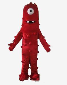 Traje de Muno Mascot 2019 de alta calidad de Yo Gabba Gabba