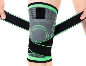 Top ginocchiere professionista protettivo Sport Knee Pad traspirante Bandage ginocchiera per Basketball Tennis Ciclismo Basketball Calcio