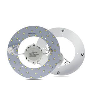 LED Panneau anneau Tube 5730 SMD 18W 24W 36W haute luminosité LED Plaque d'éclairage Installation pratique Remplacer Autres Lampes de plafond